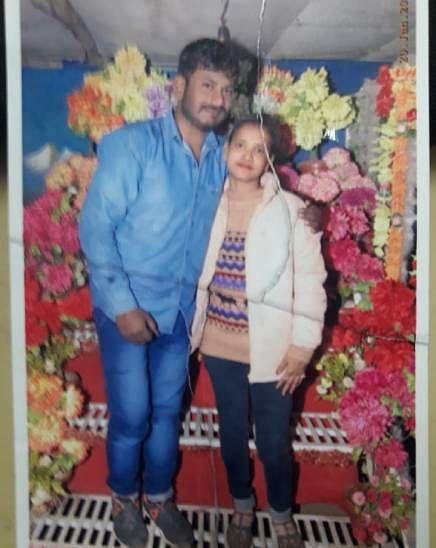 आरोपी और मृतक प्रेमिका का कुछ दिन पहले साथ खिंचवाया फोटो
