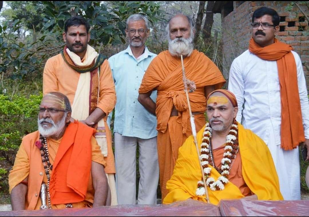 राम मंदिर के लिए चंदा लेने वाले नहीं हैं राम भक्त: अविमुक्तेश्वरानंद