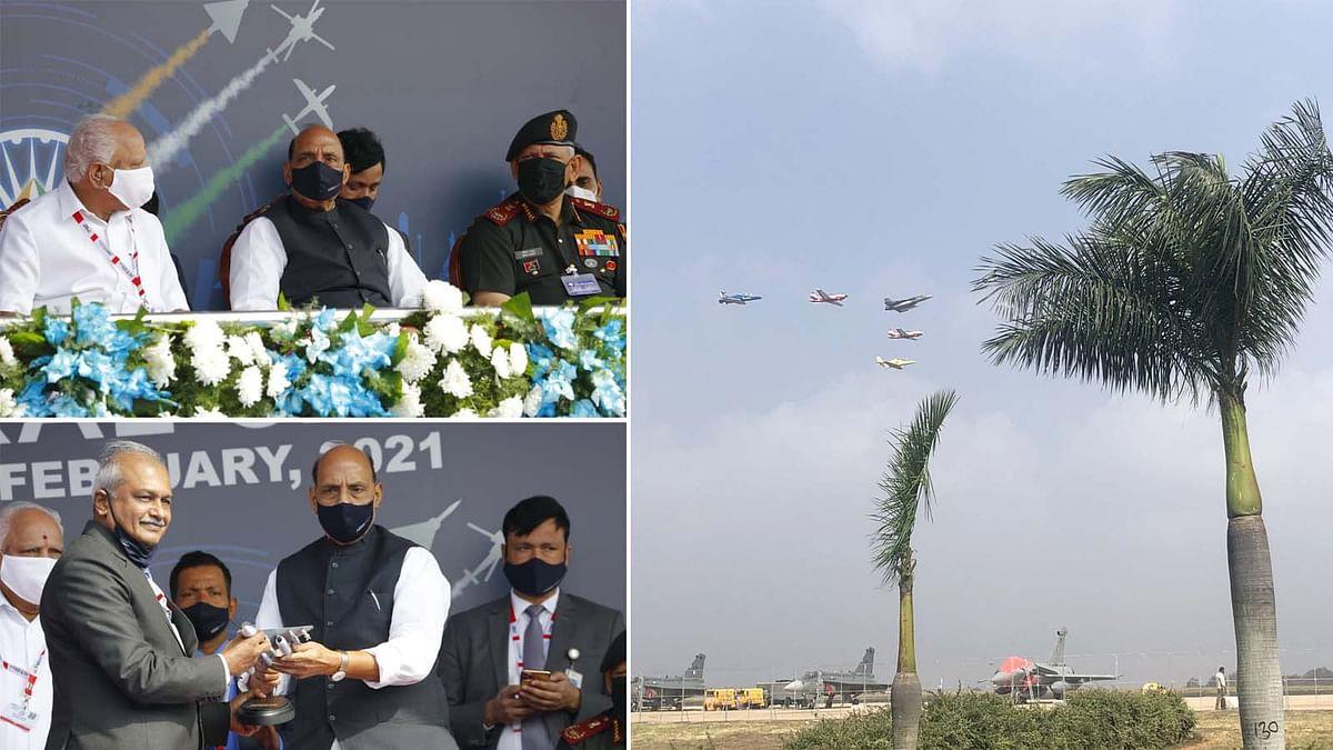 बेंगलुरु में एयरो इंडिया शो 2021 का आगाज, दुनिया देख रही भारत की हवाई ताकत