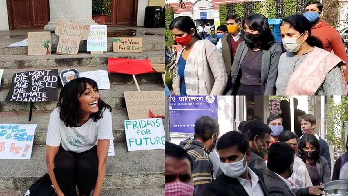 दिल्ली: दिशा रवि की गिरफ्तारी मामले पर मचा सियासी बवाल
