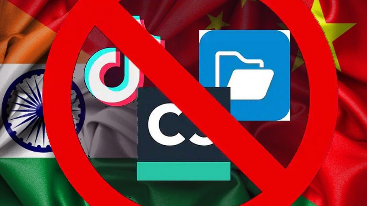 चीनी ऐप्स की बाजार हिस्सेदारी भारतीय बाजार में काफी घट गई