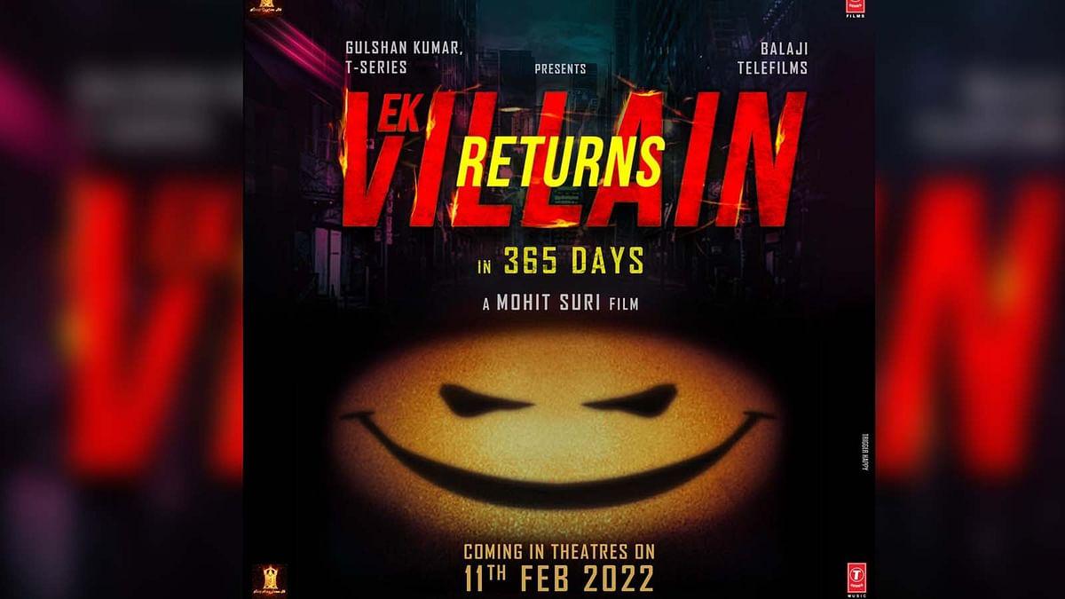 जॉन ने उठाया Ek Villain Returns के रिलीज डेट से पर्दा, सामने आया पोस्टर