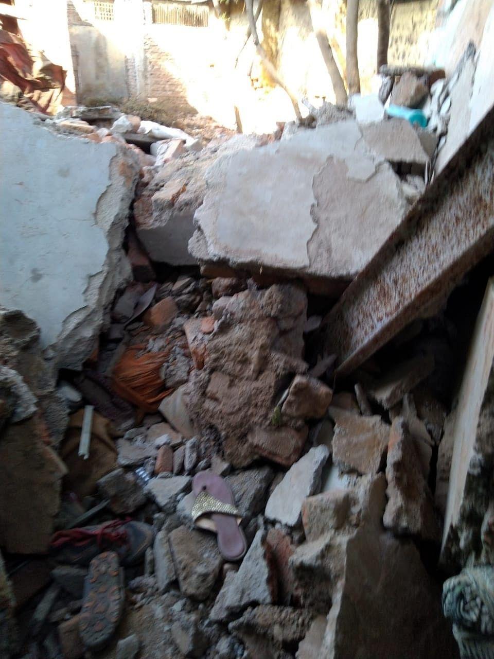 ग्वालियर : लक्ष्मणपुरा में सिलेंडर फटा, दो घायल