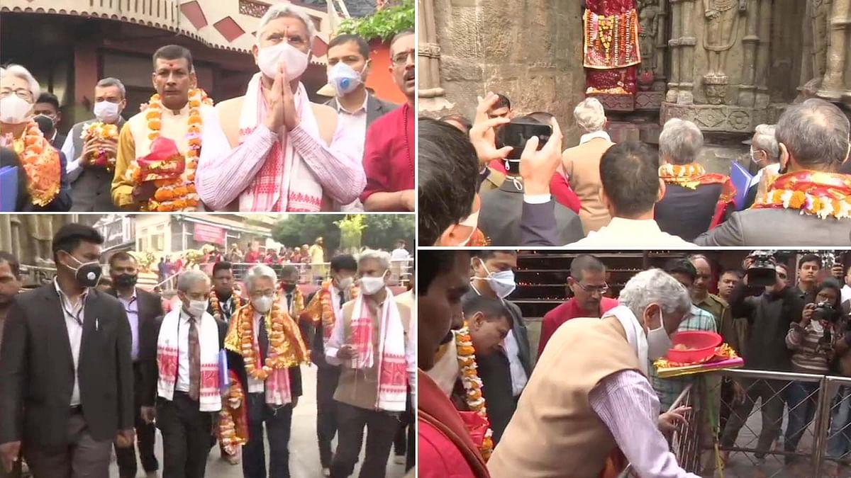 असम के गुवाहाटी में विदेश मंत्री एस जयशंकर ने कामाख्या मंदिर में की पूजा