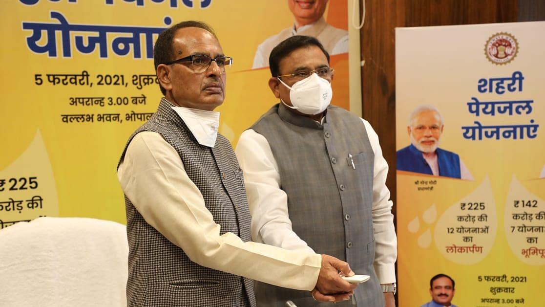 CM ने 12 योजनाओं का ई-लोकार्पण एवं 142 करोड़ की 7 योजनाओं का किया भूमिपूजन