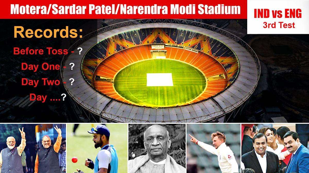 Motera: INDvsENG Test में जीता भारत, टॉस के पहले से जीत तक बने इतने रिकॉर्ड