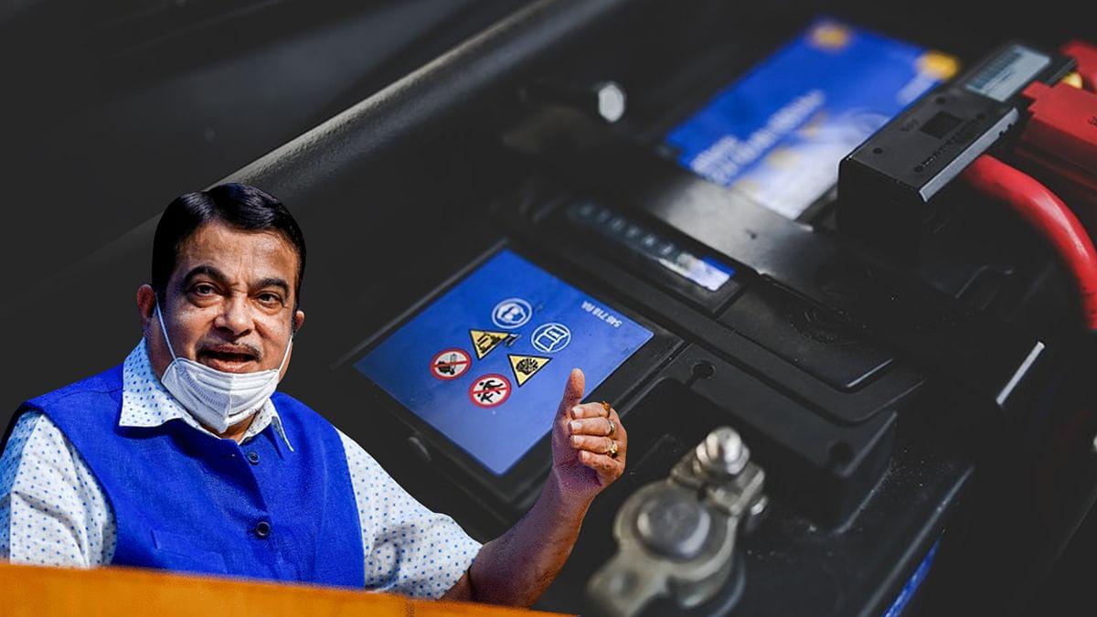 केंद्रीय मंत्री गडकरी ने दी सरकार की उन्नत बैटरी तकनीक की नीति की जानकारी