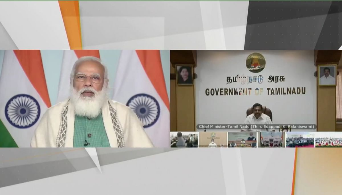 तमिलनाडु: PM मोदी की राष्ट्र को तेल-गैस क्षेत्र की प्रमुख परियोजना की सौगात