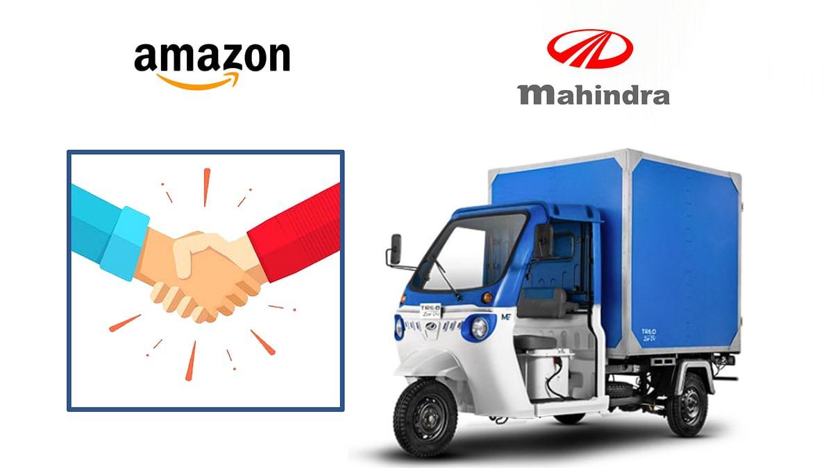 Amazon ने की महिंद्रा इलेक्ट्रिक के साथ साझेदारी