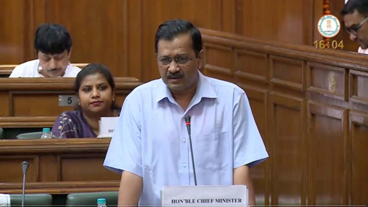 दिल्ली विधानसभा में CM अरविंद केजरीवाल ने भाजपा-कांग्रेस से पूछी ये बात...