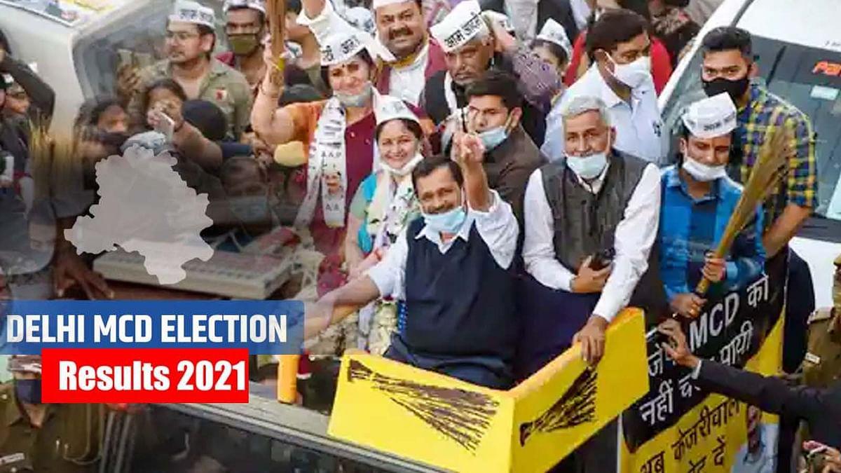 दिल्ली MCD उपचुनाव के नतीजे जारी, BJP की हार- आप और कांग्रेस ने मारी बाजी