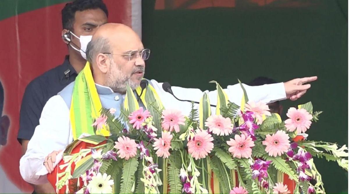 असम: चिरांग जनसभा में बोले शाह- 3 वादे पूरा करके BJP आज आशीर्वाद मांगने आई
