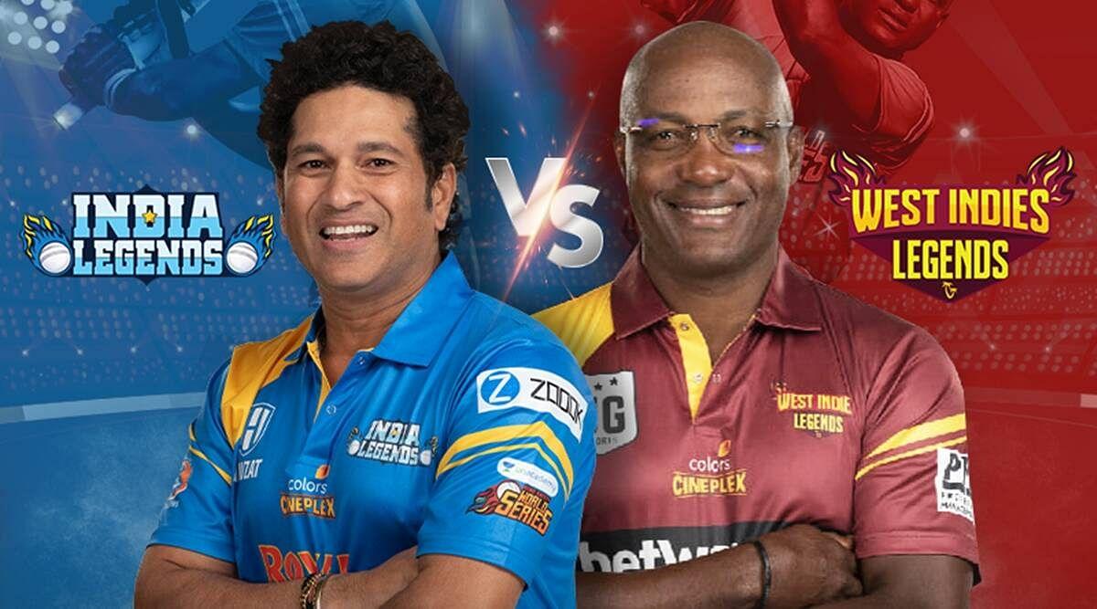 क्रिकेट रोड सेफ्टी सीरीज : वेस्टइंडीज को 12 रन से हराकर इंडिया फाइनल में