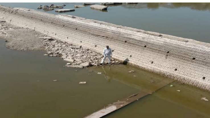 उज्जैन:शिप्रा नदी में विस्फोट की ONGC ने की जांच,कलेक्टर को सौंपेगी रिपोर्ट
