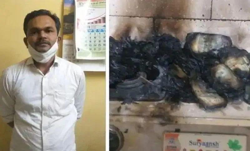 तहसीलदार ने पकड़े जाने के डर से लाखों रुपए जला दिए