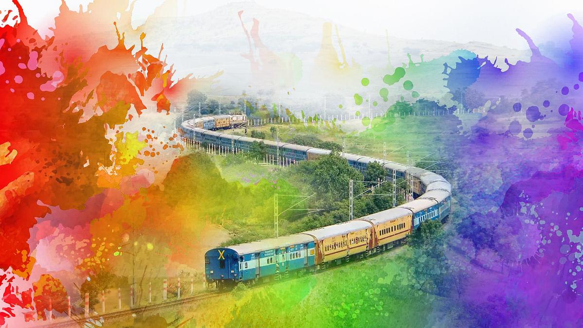 होली को मद्देनजर रख रेलवे ने कुछ अन्य रूट्स पर भी शुरू की स्पेशल ट्रेनें