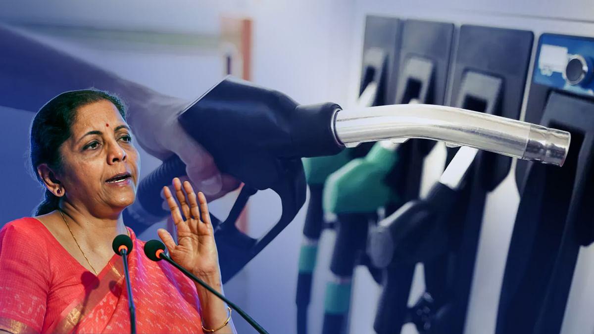 पेट्रोल, डीजल, ATF, गैस को GST में लाने FM सीतारमण ने अब क्या कहा?