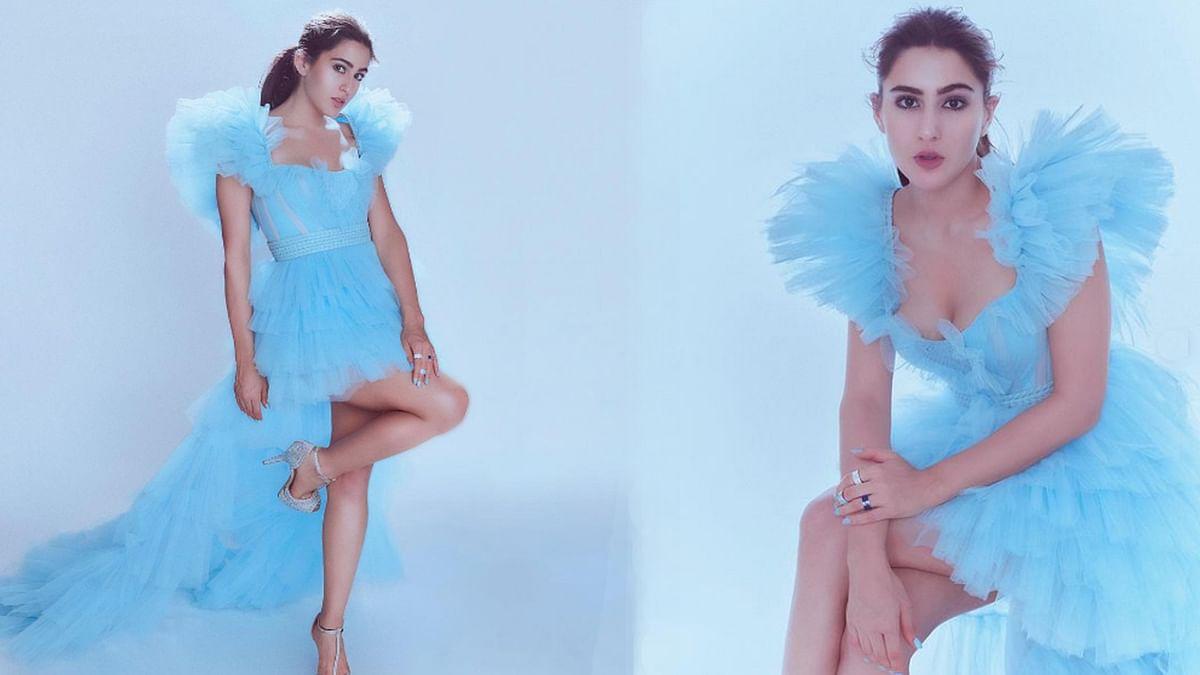 सारा अली खान ने शेयर की Cinderella लुक में तस्वीरें, फैंस कर रहे हैं तारीफ