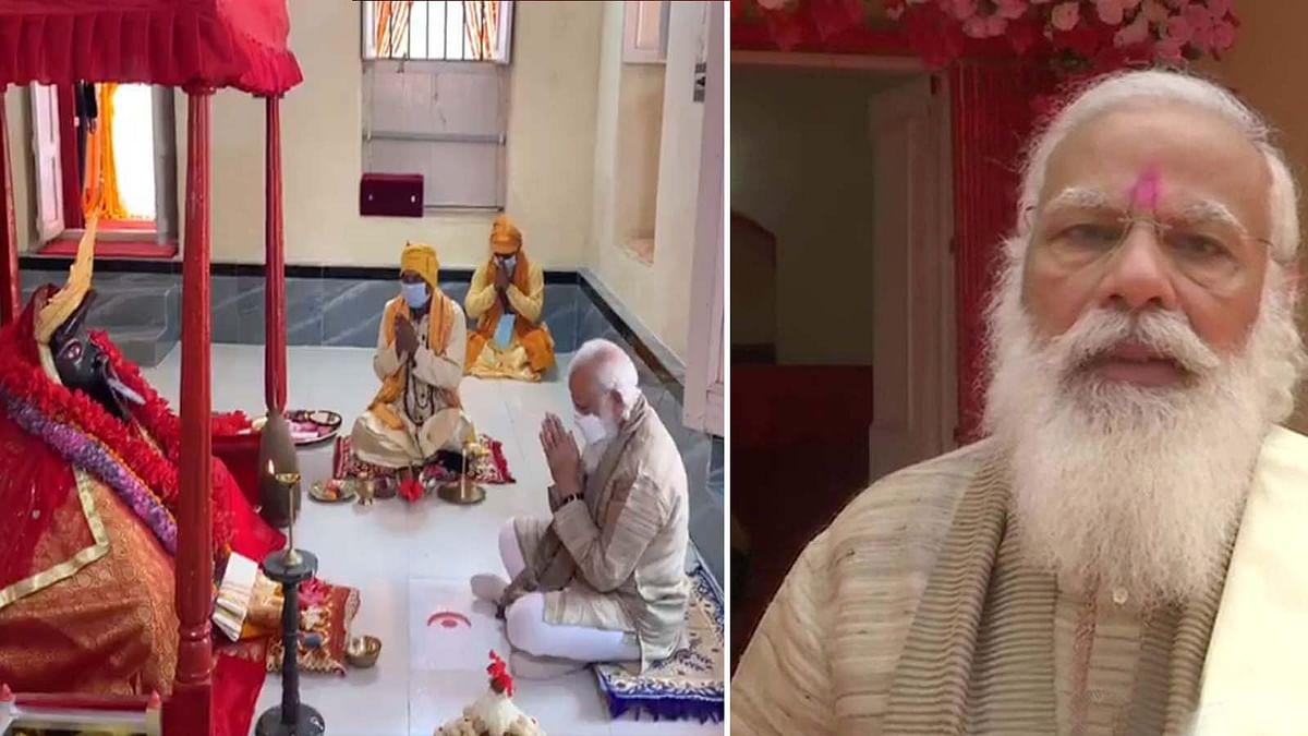 जशोरेश्वरी काली मंदिर में पूजा कर PM मोदी ने मंदिर को लेकर किया ये बड़ा ऐलान