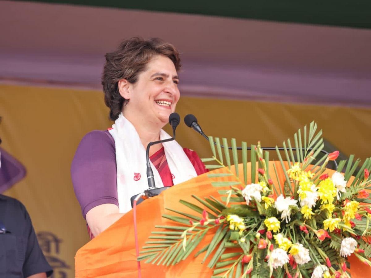मोदी को नहीं है असम के लोगों के प्रति सहानुभूति : प्रियंका