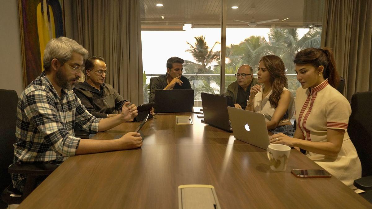 अक्षय कुमार ने शेयर की 'राम सेतु' से जुड़ी तस्वीर, कैप्शन ने खींचा सबका ध्यान