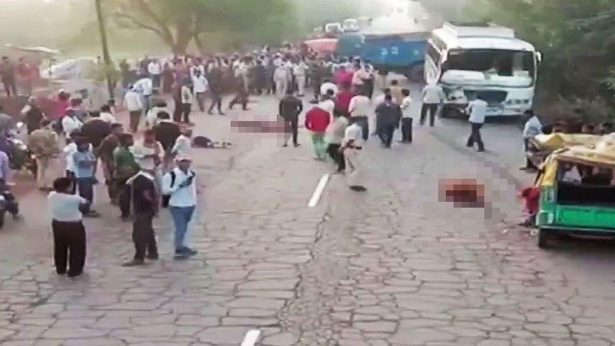 ग्वालियर : फोरलेन होती सड़क तो बच सकती थीं 13 जिंदगियां