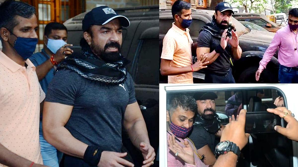 Drugs Case: पूरी रात पूछताछ के बाद NCB ने एक्टर एजाज खान को किया गिरफ्तार