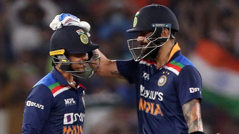 क्रिकेट : किशन और विराट के अर्धशतकों से भारत ने हासिल की बराबरी