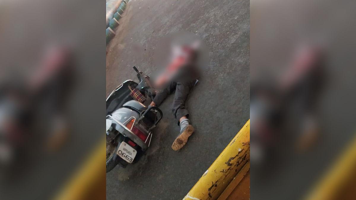 भोपाल : कोलार के सर्वधर्म पुल के पास एक्टिवा चालक की बिजली गिरने से मौत