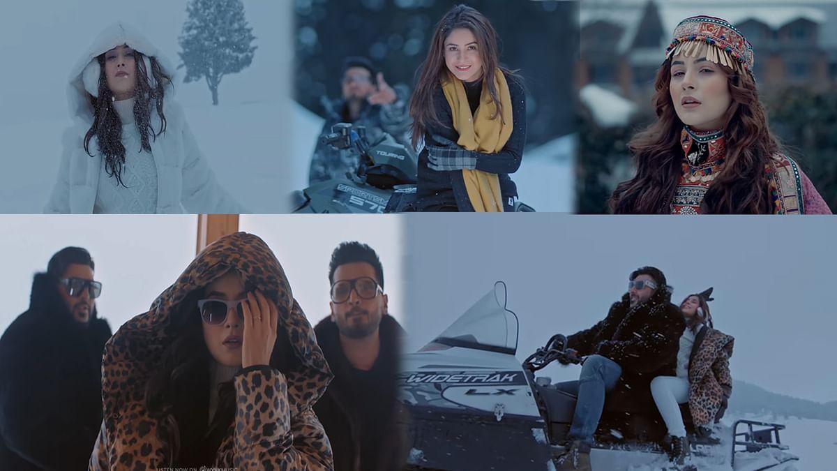 शहनाज गिल और बादशाह का गाना Fly रिलीज