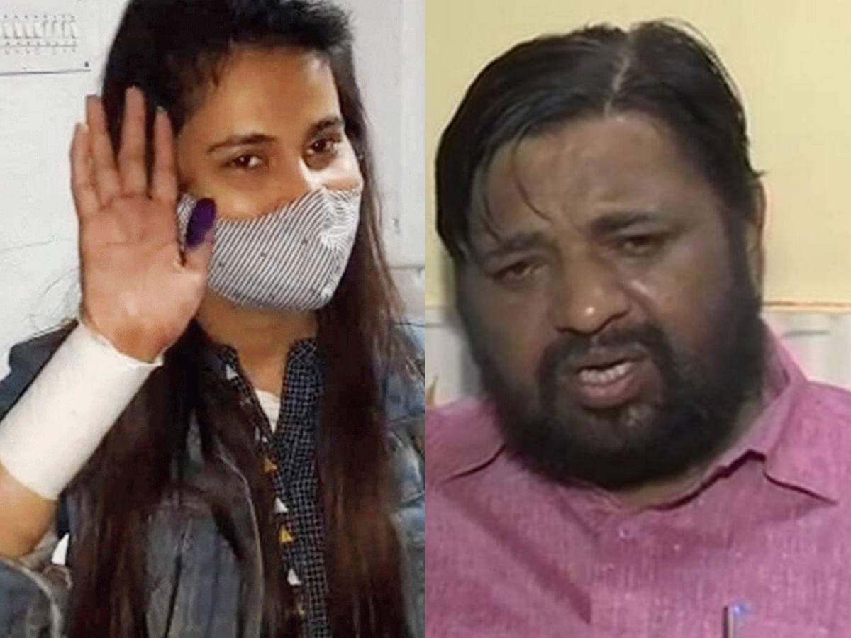 लखनऊ : सांसद कौशल किशोर के घर के बाहर बहू ने काटी हाथ की नस काटी