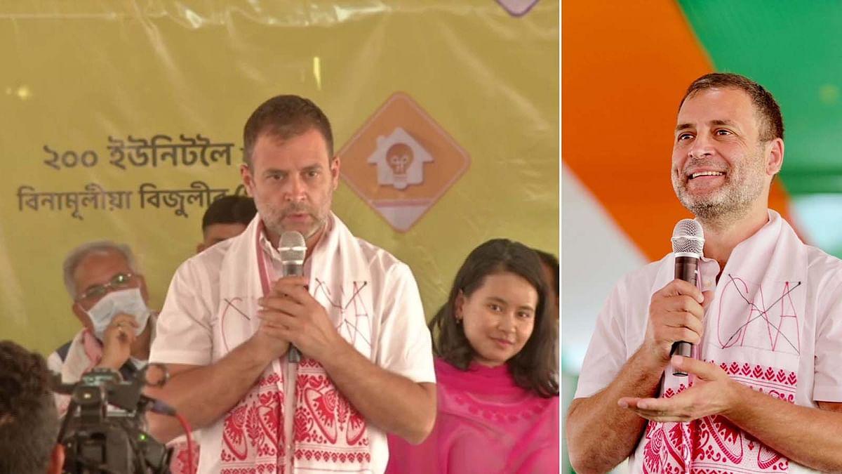 असम में राहुल की कॉलेज छात्रों से बातचीत- राजनीति में आने को लेकर कही ये बात