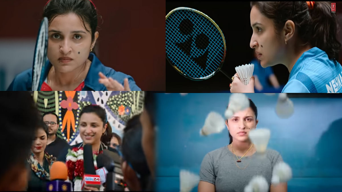 'साइना' का नया टीजर रिलीज़, बैडमिंटन प्लेयर के किरदार में दिखीं परिणीति