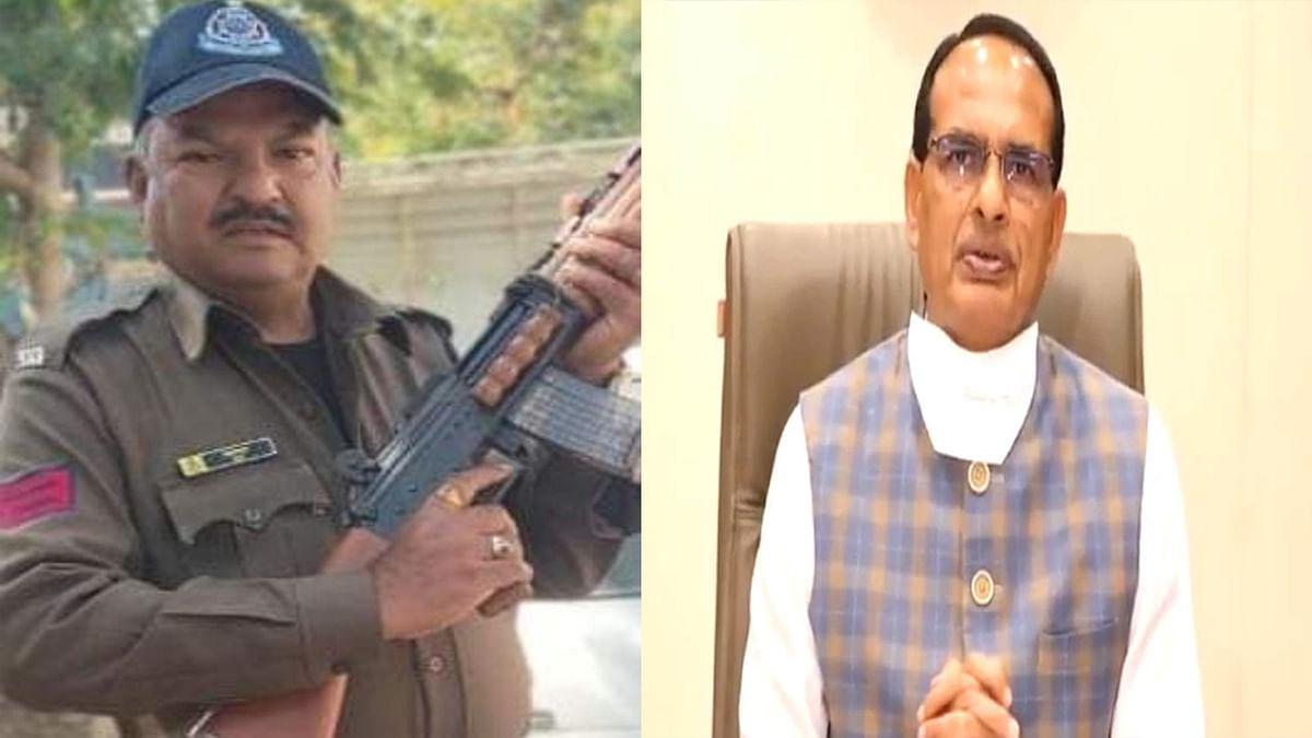 उज्जैन: कोरोना की जंग हारे आरक्षक भेरूलाल हाडा, CM समेत नेताओं ने जताया शोक