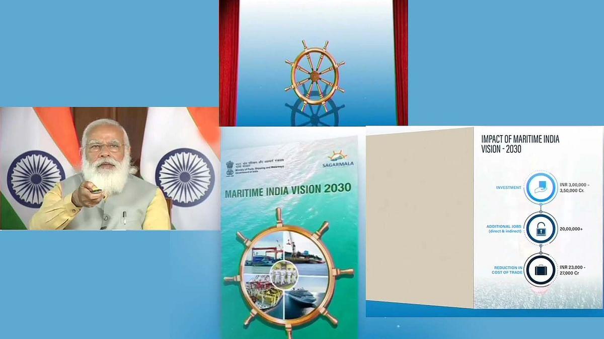 मैरीटाइम इंडिया समिट 2021 का उद्घाटन- भारत समुद्री क्षेत्र पर PM केे विचार