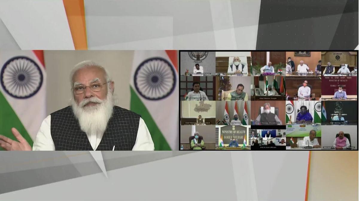 PM की CM संग मीटिंग, कहा- सेकंड पीक को रोकने के लिए हमें ये कदम उठाने होंगे