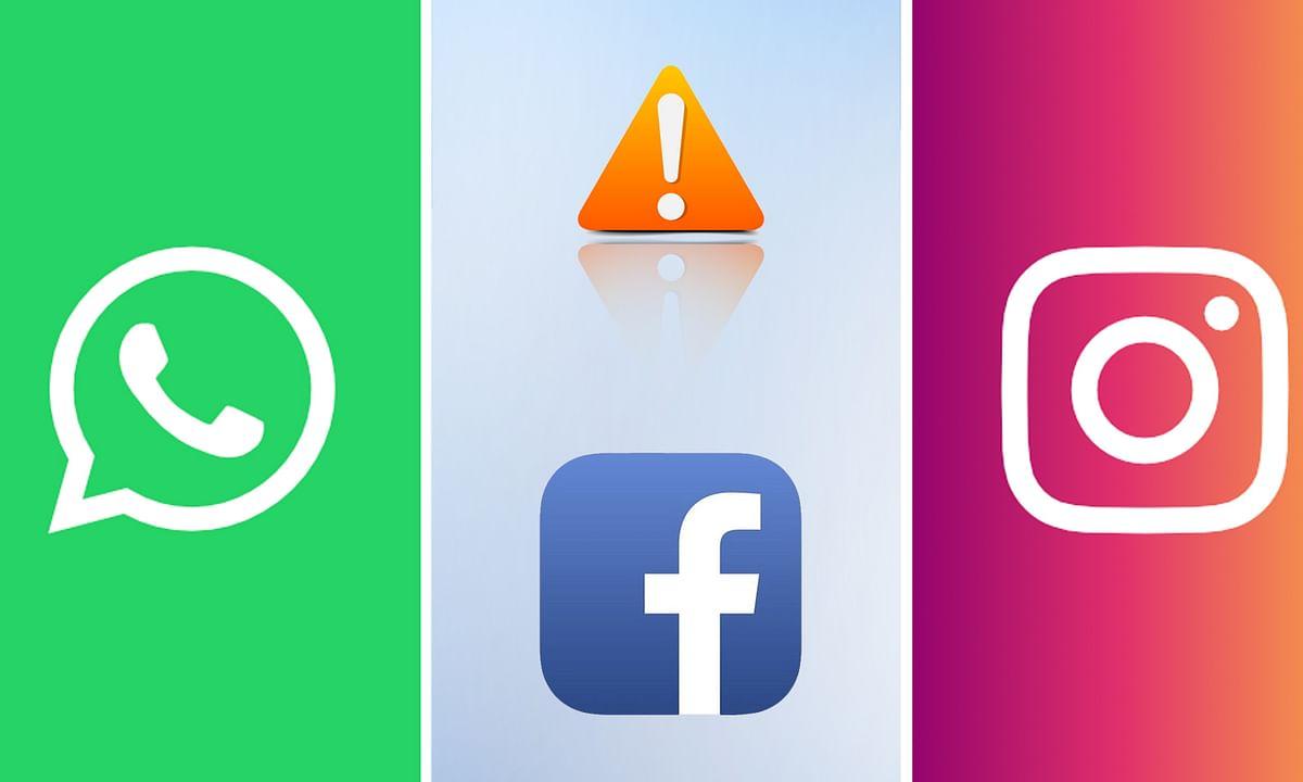 करीब 1 घंटे Facebook, WhatsApp और Instagram की सर्विस डाउन होने से मची खलबली