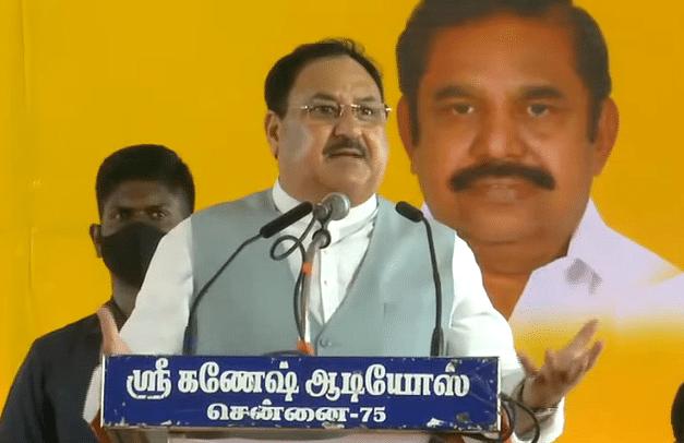 तमिलनाडु में टिटाकुडी जनसभा में JP नड्डा का दावा-BJP ही विकासवाद की पार्टी है
