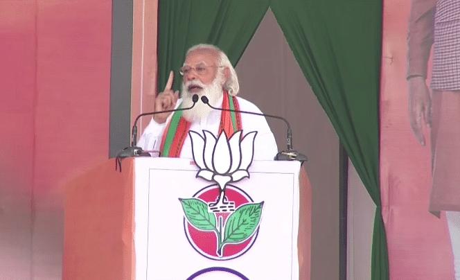 मोदी ने कांग्रेस-DMK को चेताया, कृपया अपनी पार्टी के नेताओं को काबू में रखो