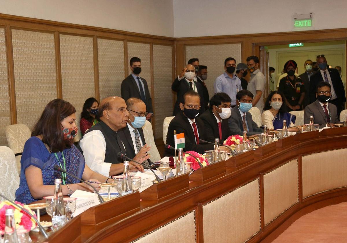 भारत-अमेरिका के रक्षा मंत्रियों की वार्ता के बाद राजनाथ सिंह आया बड़ा बयान