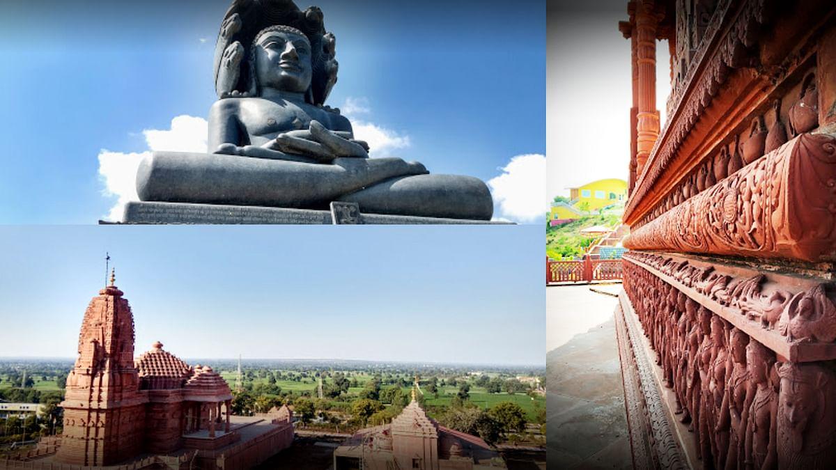 तीर्थ क्षेत्र पुष्पगिरी में कामधेनु मंदिर का CM शिवराज आज करेंगे शिलान्यास