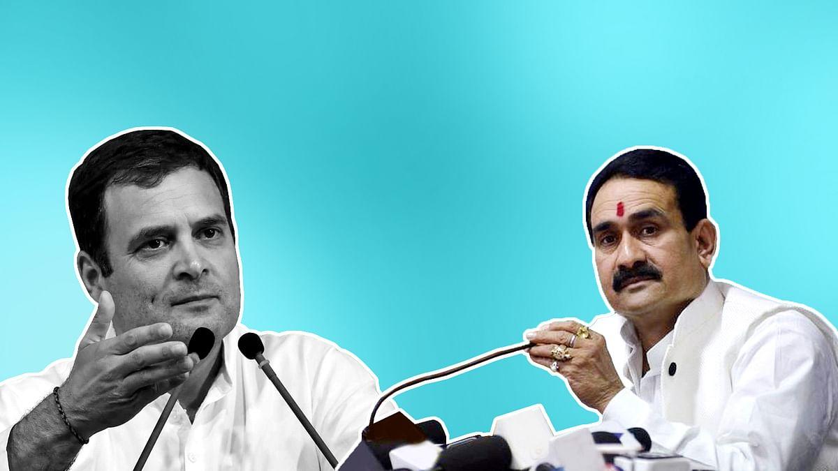 संकट के बीच नेताओं में आरोप-प्रत्यारोप का दौर, राहुल गांधी पर मिश्रा का तंज