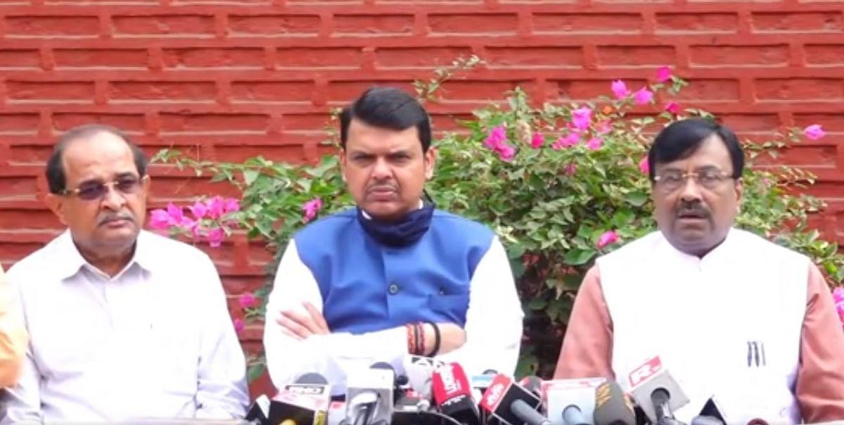महाराष्ट्र सरकार ने नैतिकता खो दी है : फडनवीस