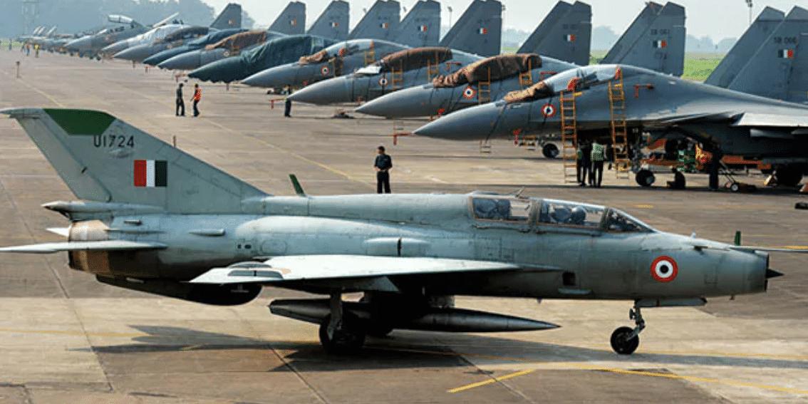 मिग-21 विमान हादसा