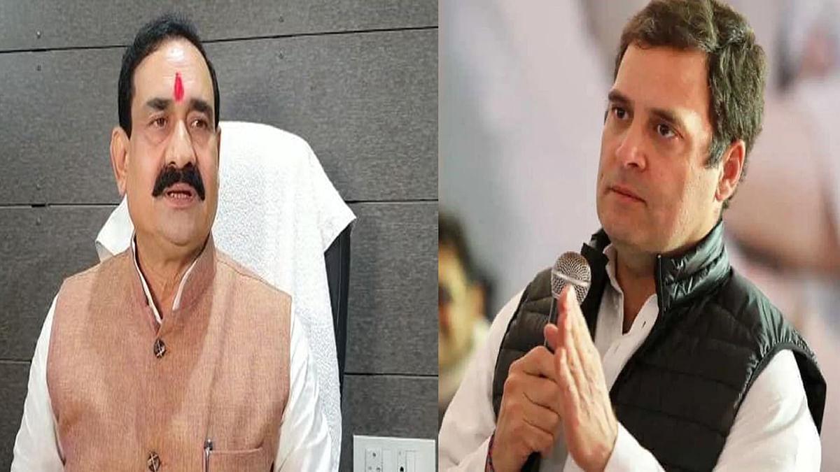 कांग्रेस नेता राहुल गांधी पर मंत्री नरोत्तम मिश्रा का तीखा प्रहार, कही बात