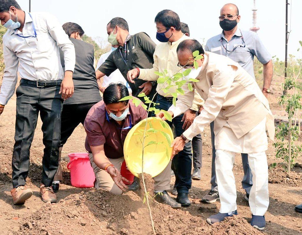 वन प्लांट अ डे: आज CM ने भोपाल स्थित स्मार्ट पार्क में लगाया 'करंज का पौधा'