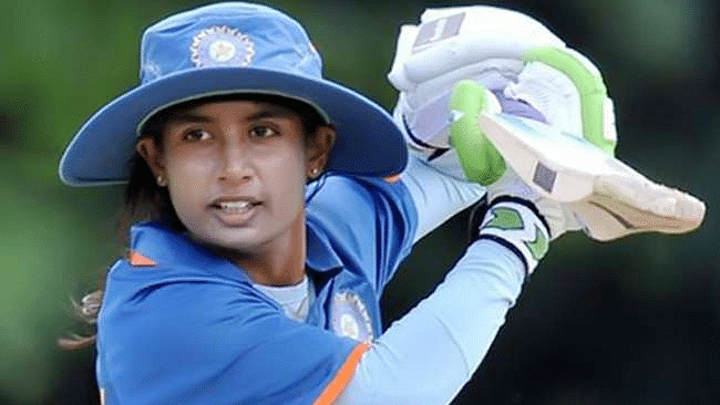 क्रिकेट : मिताली की कप्तानी पारी से भारत ने बनाये 188 रन