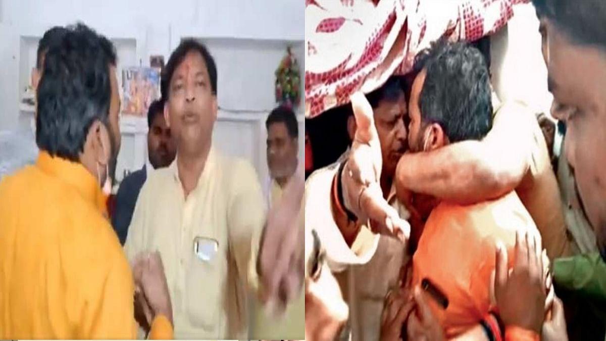 मुरैनाः सिंधिया समर्थक-भाजपा जिलाध्यक्ष के बीच विवाद, कांग्रेस ने ली चुटकी