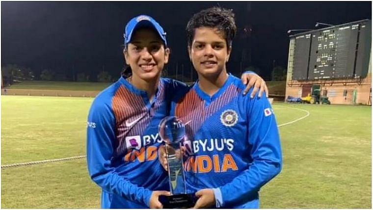 शेफाली और स्मृति की विस्फोटक पारियों से भारत नौ विकेट से जीता