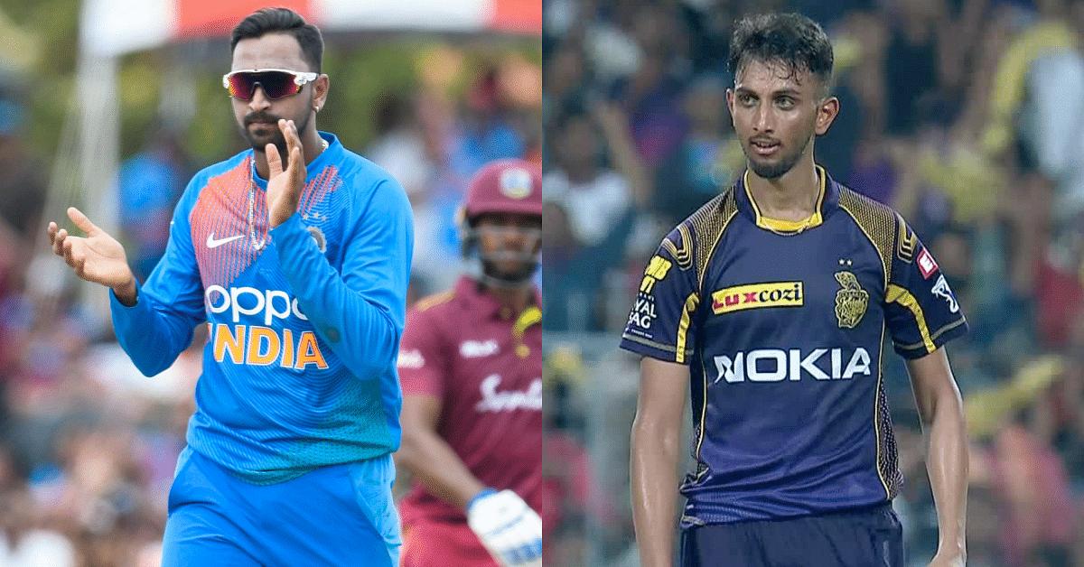 क्रिकेट: प्रसिद्द कृष्णा और क्रुणाल पांड्या को मिल सकता है वनडे टीम में मौका